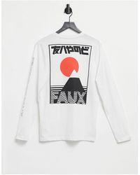 Friend or Faux Japon Long Sleeve T-shirt - White