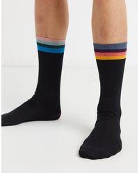 Paul Smith Черные Носки С Манжетами -черный