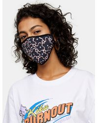 TOPSHOP Face Covering - Black