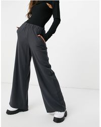 Dr. Denim Bell Trousers - Black