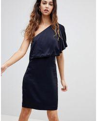 Reiss - Solstice Asymmetric Layer Dress - Lyst