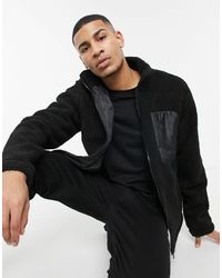 Threadbare Clifford Borg Jacket - Black