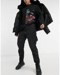 Marshall Artist Черные Брюки Карго -черный Цвет