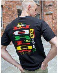 Huf Get Up T-shirt - Black