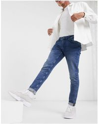 Only & Sons Skinny Stretch Jeans - Blue