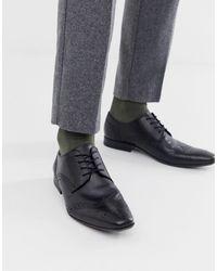 Moss Bros Moss london - chaussures richelieu - Noir