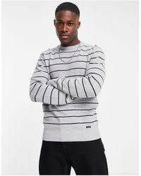 Threadbare – pullover - Grau