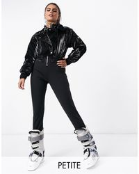 ASOS 4505 Petite Ski Biker Ski Suit - Black