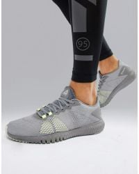 Reebok - Training Astroride Flex Trainers In Triple Grey Cn5192 - Lyst