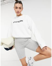 French Connection Sweatshirt - White