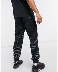 adidas Originals - Черные Джоггеры С Логотипом-трилистником -черный - Lyst