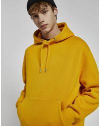 Pull&Bear Hoodie - Yellow