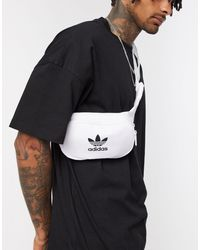 adidas Originals Белая Сумка-кошелек На Пояс С Логотипом-трилистником -белый - Многоцветный