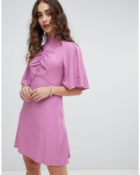 Free People Be My Baby - Robe patineuse courte - Rose