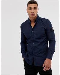 Hype – Insignia – Langärmliges Hemd - Blau