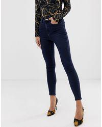 ASOS - 'sculpt Me' High Waisted Premium Jeans - Lyst