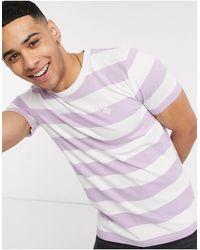 Tom Tailor T-shirt à rayures - Blanc