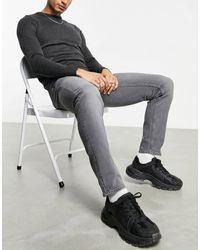 Pull&Bear Slim Jeans - Grey