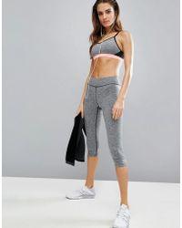 ELLE Sport - Training Capri Gym Leggings - Lyst