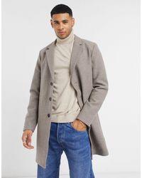 Jack & Jones Бежевое Пальто Premium-neutral - Естественный