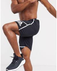 adidas Originals - Черные Шорты Adidas Training-черный - Lyst
