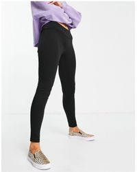 Vila High Waisted leggings - Black