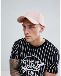 Jack & Jones - Pink Baseball Cap - Lyst