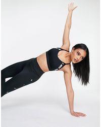 Nike Sujetador deportivo negro