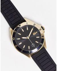 Lacoste Reloj negro para hombre