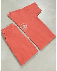 ASOS Lounge Pyjamaset - Oranje