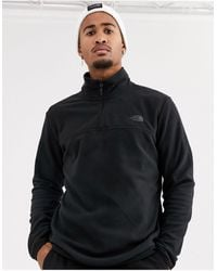 The North Face Tka Glacier 1/4 Zip - Black