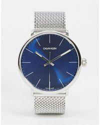 Calvin Klein Часы С Черным Циферблатом -черный
