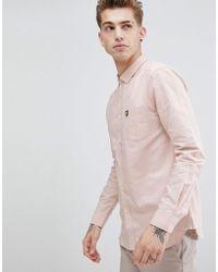 Lyle & Scott - Long Sleeve Deckchair Stripe Shirt - Lyst