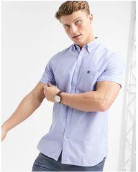 SELECTED Collect - Chemise à manches courtes - Bleu