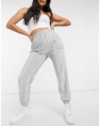 The Couture Club Velour joggers - Grey