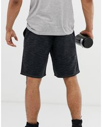 Reebok – e Shorts mit UFC-Logo - Schwarz