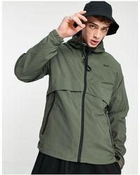 Pull&Bear Легкая Куртка Цвета Хаки -зеленый Цвет