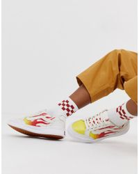Vans Highland White Flame Trainers