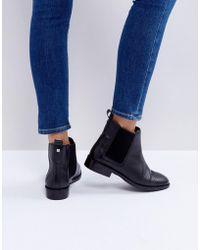 Faith Binkie - Chelsea Boots aus Leder - Schwarz