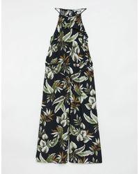 Oasis Комбинезон С Пальмовым Принтом -многоцветный