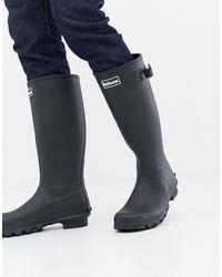 Barbour Bede - Stivali da pioggia neri - Nero