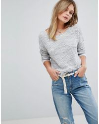 Hollister - Core Knit Jumper - Lyst
