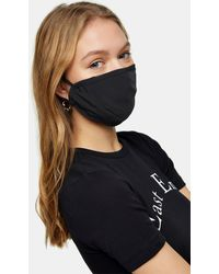 TOPSHOP Masque en tissu - Noir