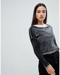Blanc Noir Flashback Sweatshirt Lyst