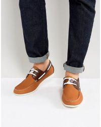 Lambretta - Boat Shoes Tan - Lyst