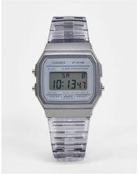 G-Shock Серые Цифровые Часы F-91ws-8ef-серый