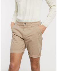 ASOS Slim Chino Shorts - Multicolour