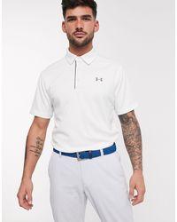 Under Armour Golf - Polo technique - Blanc