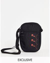 PUMA Repeat Cat Logo Mini Corss Body Bag - Black