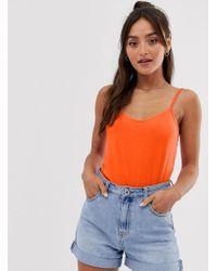 ASOS Ultimate Cami In Orange